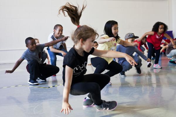 Workshop Kidsdance  Brugge.